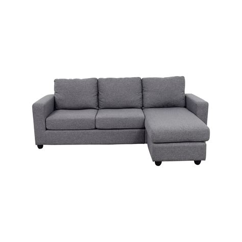 gray l shaped couch 50 off ikea soderhamn sectional sofa sofas