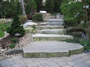 Rock Garden Steps Building March 2013