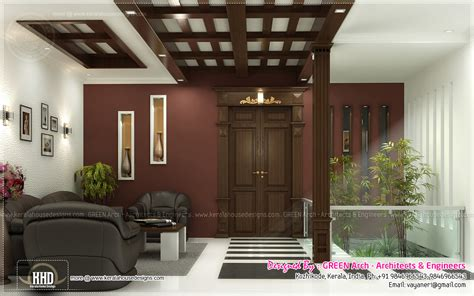 Inn Floor Plans by Beautiful Home Interior Designs By Green Arch Kerala