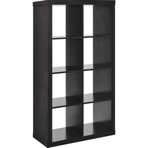 Cube Room Divider Altra Furniture 8 Cube Bookcase Room Divider In Espresso 7646096 The Home Depot