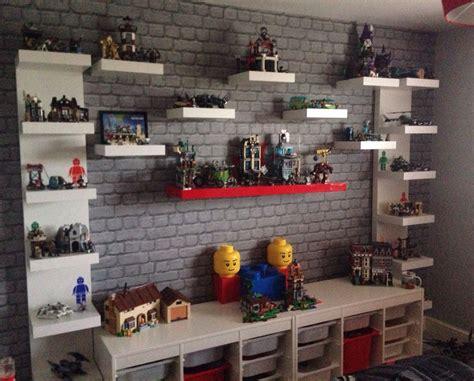 lego display on pinterest lego display shelf lego room lego creation station lego display unit lego