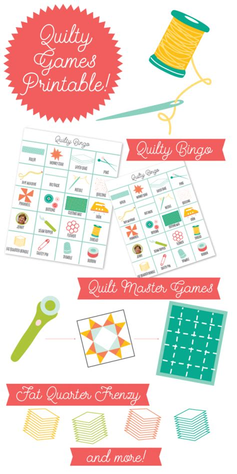 printable quilting games october printables quilty party games part ii