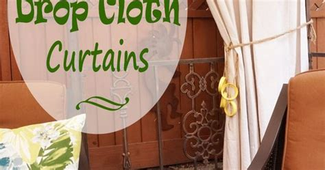 curtains 94 inch drop drop cloth curtains my patio refresh part 3 see more