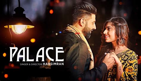 song by harsimran palace lyrics punjabi song harsimran
