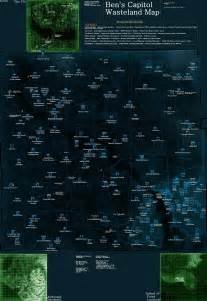 Fallout 3 World Map by Fallout3 Nexus Mods And Community