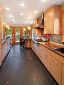 Tile Floor Kitchen Ideas by Save Email