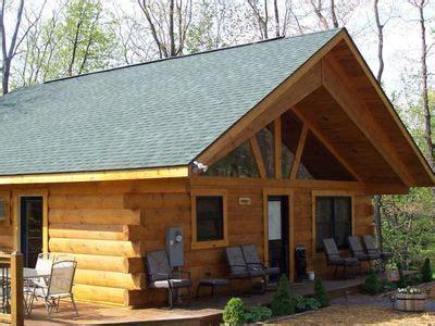 Herrington Lake Cabin Rentals by Creek Log Cabin In The Woods 150 00 Homeaway