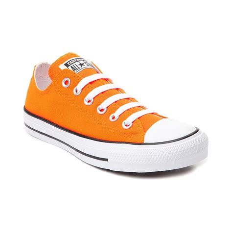 chucks sneakers converse chuck all lo neon sneaker neon orange