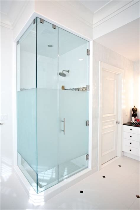 custom shower glass bathroom new york