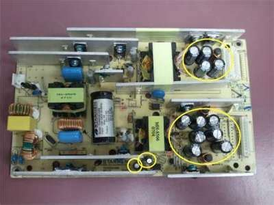 failing capacitors in power supply answered digital lifestyle fa1b32z 32 in lcd television questions issues fixya