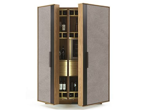 solid wood bar cabinet solid wood bar cabinet cambusa wine wine jumbo by riva