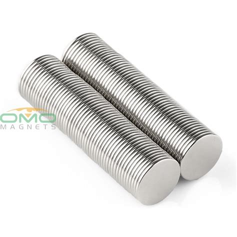 100 Pcs Magnet Neodymium 8 X15 Mm omo magnetics 100pcs neodymium magnets n50 grade 14mm x 1mm sheet earth strong power