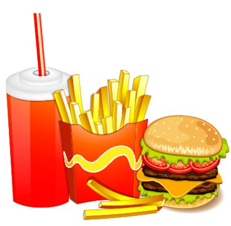 Creative Fast Food Products Background Vector 05 Free Fast Food Powerpoint Template