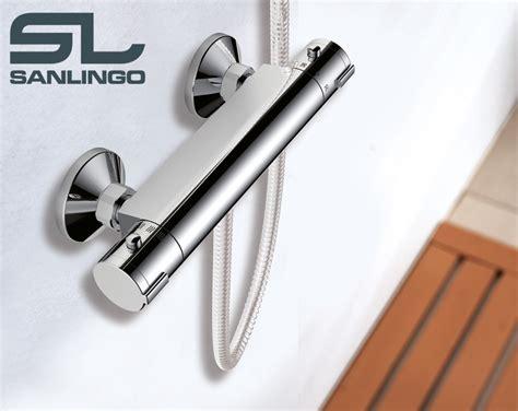 rubinetto termostatico bagno rubinetto doccia cromo sanlingo miscelatore