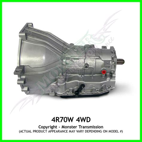 4r70w Transmission Remanufactured Heavy Duty Performance