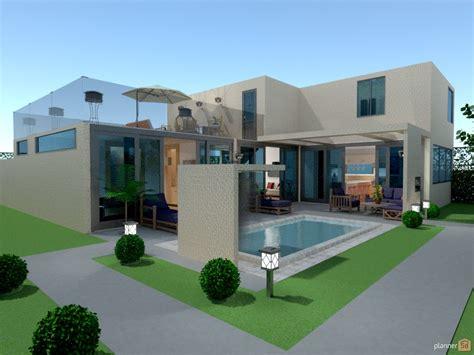 modern house ii   design  floor plans
