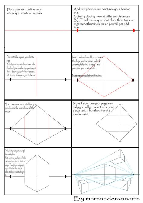 pattern in perspective photoshop two point perspective tutorial by marc anderson on deviantart