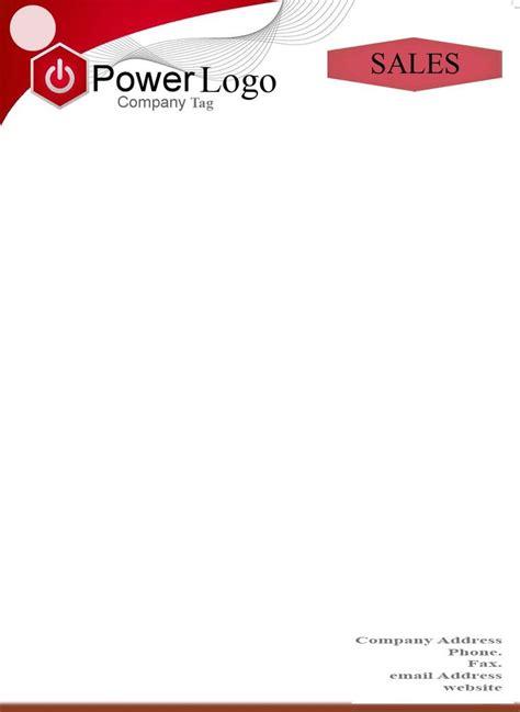letter pad format 25 best ideas about letterhead sle on