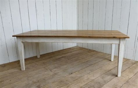 kitchen table white legs wood top bespoke and made to measure tables