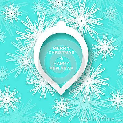 Merry Origami - origami merry and happy new year card with