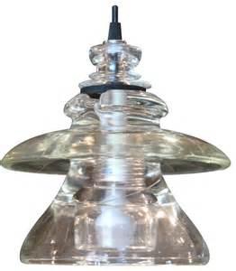 Custom Pendant Lights Insulator Light Led Pyrex Pendant Custom Rustic Pendant Lighting By Railroadware