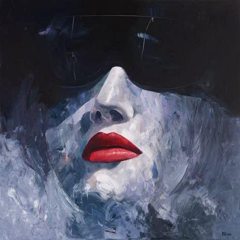 imagenes abstractas femeninas im 225 genes arte pinturas rostros de chicas con gafas en