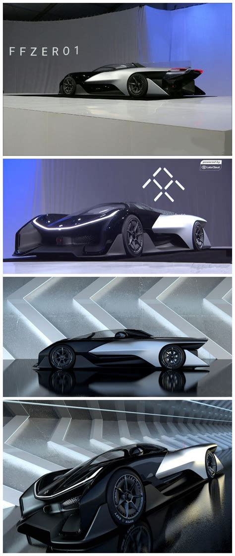 futuristic cars drawings ffzero 1 concept car things i absolutely like