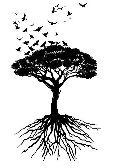 tree and bird tattoo designs 45 tree of designs