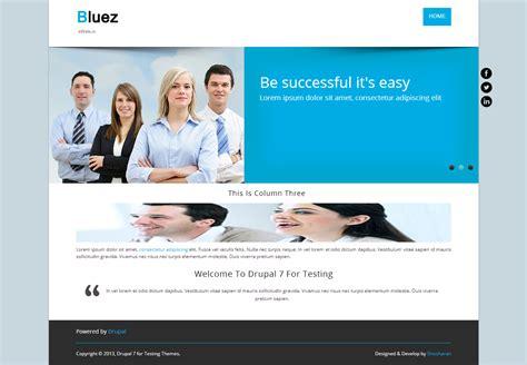 drupal themes bluez bluez 2024875 drupal org