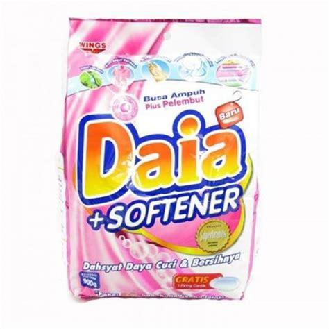 Daia Detergen Bubuk 900 Gram daia softener detergent 900gr