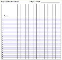 Grade Sheet Template 6 grade sheet template academic resume template