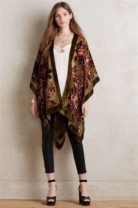 Trend Velvet by Fashion Trend Velvet Kimonos For Trendy