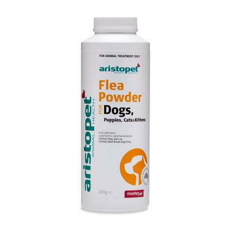 Aristopet Flea Powder For Dogs Puppies Cats Kittens aristopet flea powder 200g for dogs cats