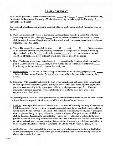 Lease Agreement Lovely Print Out A Lease Agreement Printable Free Lease Agreement Where Can I Cosigner Contract Template