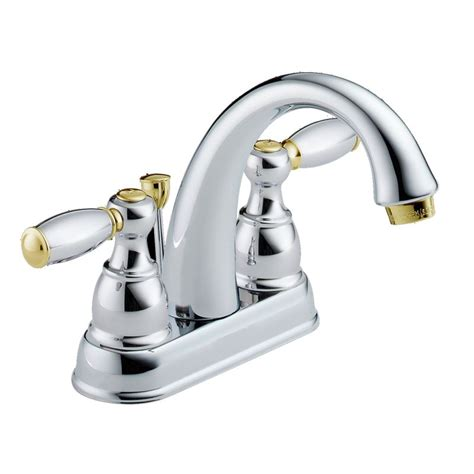 Faucet.com   25995LF CB D in Chrome and Brilliance Polished Brass by Delta
