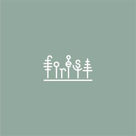 design font based logo 45 clever typographic logos of common words we use every day