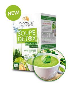 New Creation Detox by Soupe Detox Digestion Et Transit Biocyte 112 G 14 X