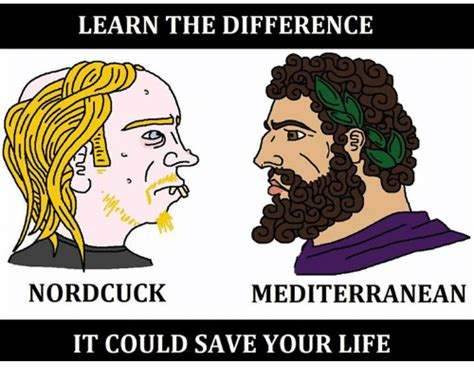 Meme Mediterranean - learn the difference nordcuck mediterranean it could save