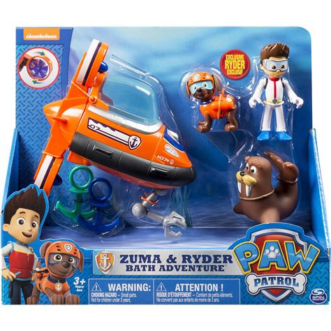 paw patrol boat black friday walmart paw patrol zuma s bath playset only 12 43 reg