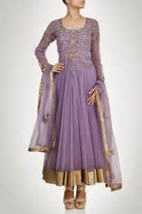 Beautiful designers long anarkali frock suits for girls ladies 7
