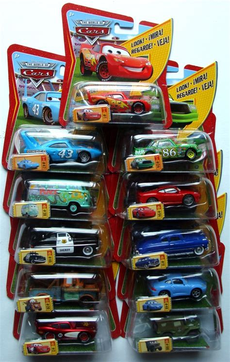 Cars Mattel mattel disney cars with assortment and new cars