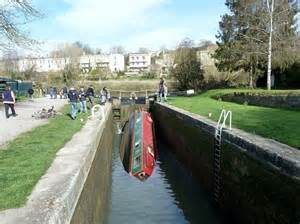 canal boat crash narrowboat hired by stag party capsizes after getting