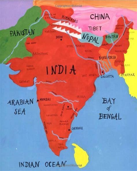 ancient india map india map 5th waldorf india block