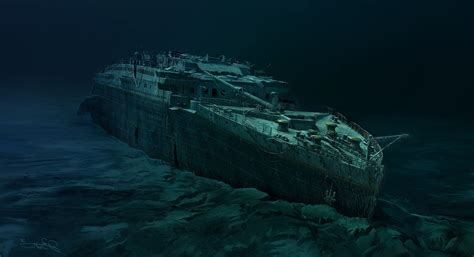 titanic real boat underwater paintings paint titanic boats underwater wallpapers hd
