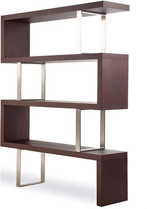 zig zag lack shelf bookcase get home decorating