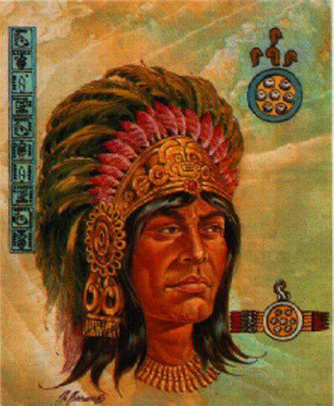 imagenes de emperadores aztecas los huey tlatoanis aztecas taringa