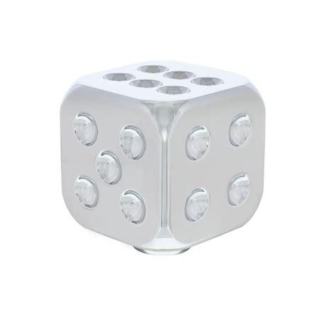 chrome dice shift knob united pacific