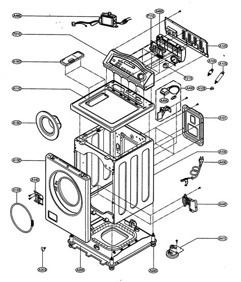 lg washing machine wiring diagram 28 images lg washer