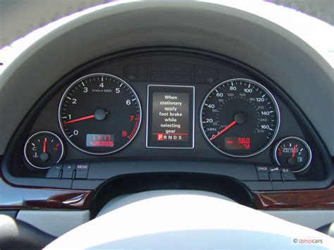 electric power steering 2006 audi a4 instrument cluster image 2006 audi a4 5dr wagon 3 2l avant quattro auto instrument cluster size 640 x 480 type