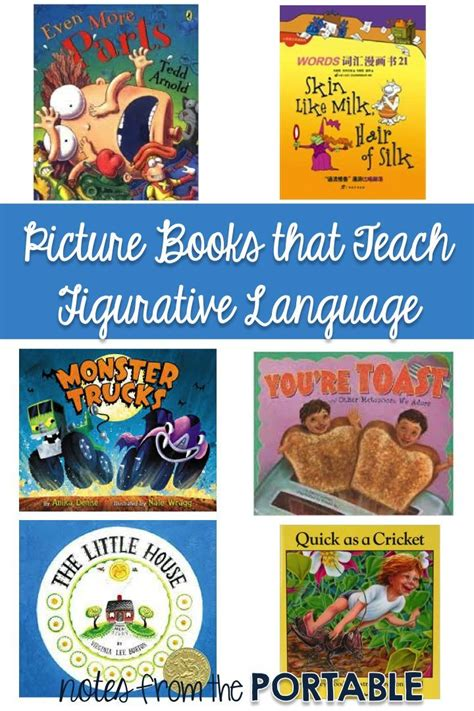 picture books with figurative language 66 best images about language arts children s stories that